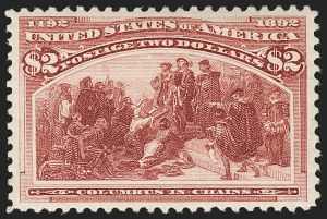 Sale Number 1179, Lot Number 2263, $1.00-$5.00 1893 Columbian Issue (Scott 241-245)$2.00 Columbian (242), $2.00 Columbian (242)