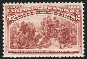 Sale Number 1179, Lot Number 2264, $1.00-$5.00 1893 Columbian Issue (Scott 241-245)$2.00 Columbian (242), $2.00 Columbian (242)