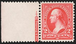 Sale Number 1179, Lot Number 2283, 1894-98 Bureau Issues (Scott 246-282)2c Carmine, Ty. III (252), 2c Carmine, Ty. III (252)