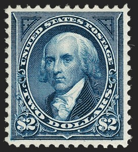 Sale Number 1179, Lot Number 2286, 1894-98 Bureau Issues (Scott 246-282)$2.00 Bright Blue (262), $2.00 Bright Blue (262)