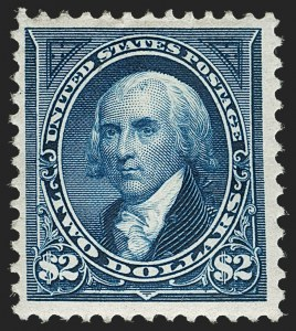 Sale Number 1179, Lot Number 2287, 1894-98 Bureau Issues (Scott 246-282)$2.00 Bright Blue (262), $2.00 Bright Blue (262)