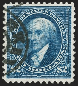 Sale Number 1179, Lot Number 2288, 1894-98 Bureau Issues (Scott 246-282)$2.00 Bright Blue (262), $2.00 Bright Blue (262)