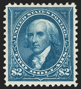 Sale Number 1179, Lot Number 2297, 1894-98 Bureau Issues (Scott 246-282)$2.00 Bright Blue (277), $2.00 Bright Blue (277)