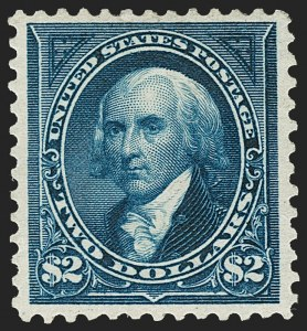 Sale Number 1179, Lot Number 2298, 1894-98 Bureau Issues (Scott 246-282)$2.00 Bright Blue (277), $2.00 Bright Blue (277)