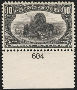 Sale Number 1179, Lot Number 2314, 1898 Trans-Mississippi Issue (Scott 285-293)10c Trans-Mississippi (290), 10c Trans-Mississippi (290)