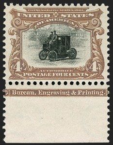Sale Number 1179, Lot Number 2335, 1901 Pan-American Issue (Scott 294-299)4c Pan-American (296), 4c Pan-American (296)