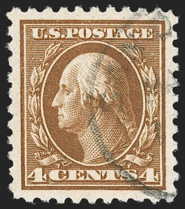 Sale Number 1179, Lot Number 2374, 1910-15 Washington-Franklin Issues (Scott 374-461)4c Brown (427), 4c Brown (427)