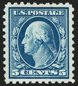 Sale Number 1179, Lot Number 2375, 1910-15 Washington-Franklin Issues (Scott 374-461)5c Blue (428), 5c Blue (428)