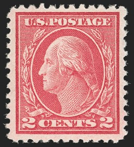 Sale Number 1179, Lot Number 2400, 1916-23 Issues (Scott 462-524)2c Deep Rose, Ty. Ia (500), 2c Deep Rose, Ty. Ia (500)