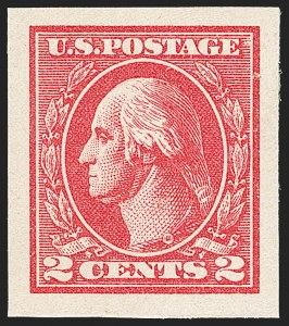 Sale Number 1179, Lot Number 2422, 1918-20 Issues (Scott 525-547)2c Carmine, Ty. VII, Imperforate (534B), 2c Carmine, Ty. VII, Imperforate (534B)