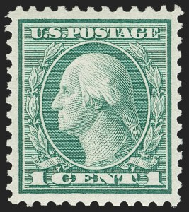 Sale Number 1179, Lot Number 2434, 1918-20 Issues (Scott 525-547)1c Green, Rotary (545), 1c Green, Rotary (545)