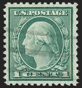 Sale Number 1179, Lot Number 2435, 1918-20 Issues (Scott 525-547)1c Green, Rotary (545), 1c Green, Rotary (545)