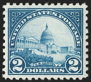 Sale Number 1179, Lot Number 2441, Later Issues$2.00 Deep Blue (572), $2.00 Deep Blue (572)