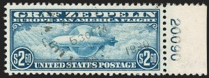 Sale Number 1179, Lot Number 2500, Air Post: Graf Zeppelin Issue (C13-C15)$2.60 Graf Zeppelin (C15), $2.60 Graf Zeppelin (C15)