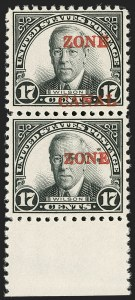 "Sale Number 1179, Lot Number 2772, U.S. Possessions: Canal ZoneCANAL ZONE, 1926, 17c Black, Se-Tenant, ""Zone"" Only and ""Zone Canal"" (91a, 91c), CANAL ZONE, 1926, 17c Black, Se-Tenant, ""Zone"" Only and ""Zone Canal"" (91a, 91c)"