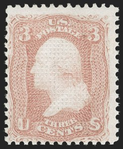 Sale Number 1180, Lot Number 130, 1867-68 Grilled Issue (Scott 79-101)3c Rose, C. Grill (83), 3c Rose, C. Grill (83)