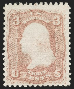 Sale Number 1180, Lot Number 133, 1867-68 Grilled Issue (Scott 79-101)3c Rose, D. Grill (85), 3c Rose, D. Grill (85)