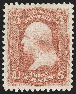 Sale Number 1180, Lot Number 138, 1867-68 Grilled Issue (Scott 79-101)3c Rose, E. Grill (88), 3c Rose, E. Grill (88)