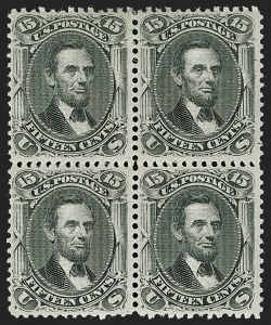 Sale Number 1180, Lot Number 140, 1867-68 Grilled Issue (Scott 79-101)15c Black, E. Grill (91), 15c Black, E. Grill (91)