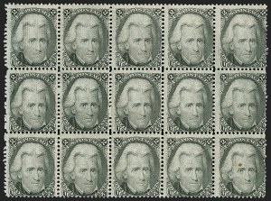 Sale Number 1180, Lot Number 141, 1867-68 Grilled Issue (Scott 79-101)2c Black, F. Grill (93), 2c Black, F. Grill (93)