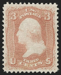 Sale Number 1180, Lot Number 142, 1867-68 Grilled Issue (Scott 79-101)3c Red, F. Grill (94), 3c Red, F. Grill (94)