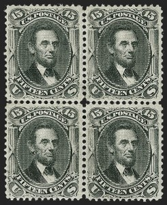 Sale Number 1180, Lot Number 148, 1867-68 Grilled Issue (Scott 79-101)15c Black, F. Grill (98), 15c Black, F. Grill (98)