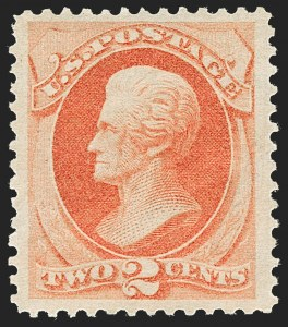 Sale Number 1180, Lot Number 220, 1873 Continental Bank Note Co. Issue (Scott 156-166)2c Vermilion (178), 2c Vermilion (178)