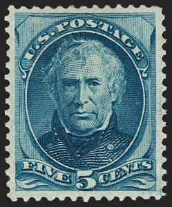 Sale Number 1180, Lot Number 221, 1873 Continental Bank Note Co. Issue (Scott 156-166)5c Blue (179), 5c Blue (179)