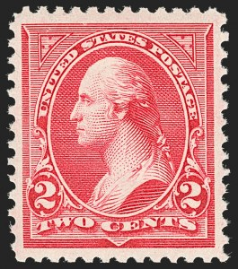 Sale Number 1180, Lot Number 280, 1894-98 Bureau Issues (Scott 246-282C)2c Carmine, Ty. III (252), 2c Carmine, Ty. III (252)