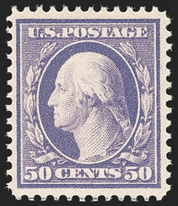 Sale Number 1180, Lot Number 315, 1908-10 Washington-Franklin Issues (Scott 331-356)50c Violet (341), 50c Violet (341)