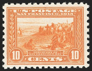 Sale Number 1180, Lot Number 341, 1913-15 Panama-Pacific Issue (Scott 397-404)10c Panama-Pacific, Perf 10 (404), 10c Panama-Pacific, Perf 10 (404)