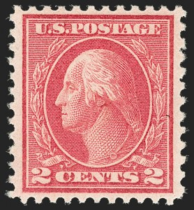 Sale Number 1180, Lot Number 375, 1917-19 Issues (Scott 481-524)2c Deep Rose, Ty. Ia (500), 2c Deep Rose, Ty. Ia (500)