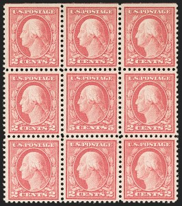 Sale Number 1180, Lot Number 376, 1917-19 Issues (Scott 481-524)5c Rose, Error (505), 5c Rose, Error (505)