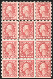 Sale Number 1180, Lot Number 377, 1917-19 Issues (Scott 481-524)5c Rose, Error (505), 5c Rose, Error (505)