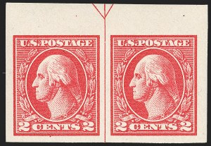 Sale Number 1180, Lot Number 382, 1918-20 Issues (Scott 525-550)2c Carmine, Ty. V, Imperforate (533), 2c Carmine, Ty. V, Imperforate (533)