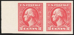 Sale Number 1180, Lot Number 383, 1918-20 Issues (Scott 525-550)2c Carmine, Ty. VII, Imperforate (534B), 2c Carmine, Ty. VII, Imperforate (534B)