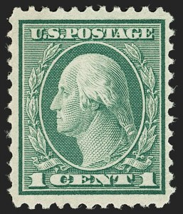 Sale Number 1180, Lot Number 386, 1918-20 Issues (Scott 525-550)1c Green, Rotary Perf 11 (544), 1c Green, Rotary Perf 11 (544)