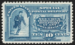 Sale Number 1180, Lot Number 412, Air Post, Special Delivery10c Blue, Special Delivery (E2), 10c Blue, Special Delivery (E2)