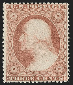 Sale Number 1180, Lot Number 71, 1857-60 Issue (Scott 18-39)3c Dull Red, Ty. II (26), 3c Dull Red, Ty. II (26)