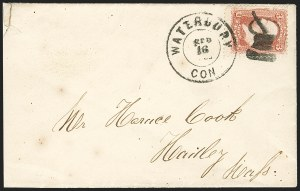 Sale Number 1182, Lot Number 115, Fancy Cancellations3c Red, F. Grill (94), 3c Red, F. Grill (94)