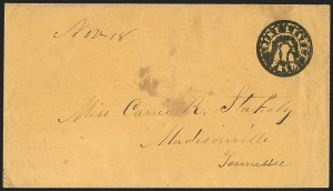 Sale Number 1182, Lot Number 276, Confederate and Civil War: Postmasters' Provisionals (New Orleans La. thru Tellico Plains Tenn.)Pine Level Ala. Paid 5, Pine Level Ala. Paid 5