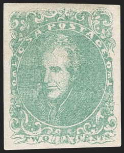 Sale Number 1182, Lot Number 304, Confederate and Civil War: General Issues Off-Cover (Scott 1-14)2c Green (3), 2c Green (3)