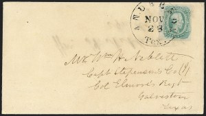 Sale Number 1182, Lot Number 659, Confederate and Civil War: Group Lots10c Blue, Dies A, B (11-12), 10c Blue, Dies A, B (11-12)