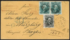 Sale Number 1182, Lot Number 92, 1861-69 Issues15c Black (77), 15c Black (77)