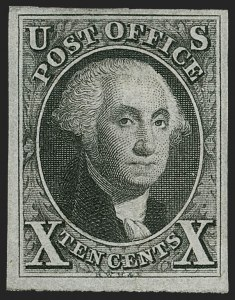 Sale Number 1185, Lot Number 13, St. Louis Postmaster's Provisional, 1847 Issue and Reproduction10c Black (2), 10c Black (2)