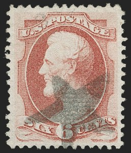Sale Number 1185, Lot Number 63, 1870-88 Bank Note Issues, 1890-93 Issue6c Carmine, I. Grill (137A), 6c Carmine, I. Grill (137A)