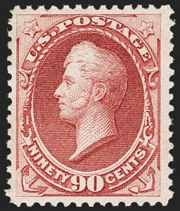 Sale Number 1185, Lot Number 64, 1870-88 Bank Note Issues, 1890-93 Issue90c Carmine (155), 90c Carmine (155)