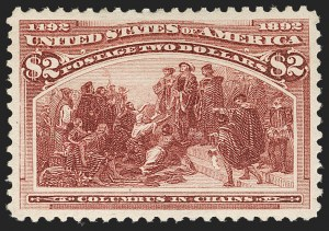 Sale Number 1185, Lot Number 69, Columbian Issue, 1894-98 Bureau Issue$2.00 Columbian (242), $2.00 Columbian (242)