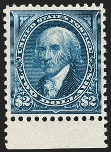 Sale Number 1185, Lot Number 74, Columbian Issue, 1894-98 Bureau Issue$2.00 Bright Blue (277), $2.00 Bright Blue (277)