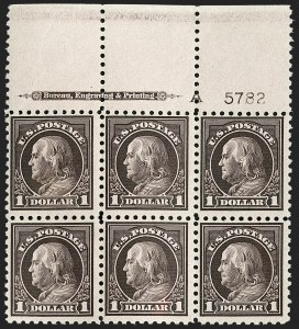 Sale Number 1185, Lot Number 84, Pan-American Issue, 20th Century Issues including Non-Inverted Jenny$1.00 Violet Black (478), $1.00 Violet Black (478)